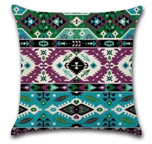 Cubiertas de almohadas Mandala Funda de almohada cuadrada Caja de almohada Caja de almohadas Decorativas Cubiertas Cubiertas Sofá SEAT HOTEL Decoración de la casa EEF4233