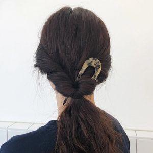 Япония старинные волосы палочки женщины U формируют девушки шпильки для волос Hairclip простота элегантность леди шпильки мода аксессуары для волос