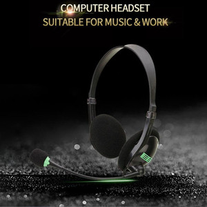 3.5MM o Headset Computer Headsets with 270 Degree Boom Mic Suitable for Desktop Computers