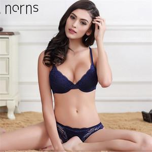NORNS Women Live Lingerie Set Sin forro Push Up Stead Set Fashion Active Lencería y Panty Bra Bralette Set Ropa interior Y200115