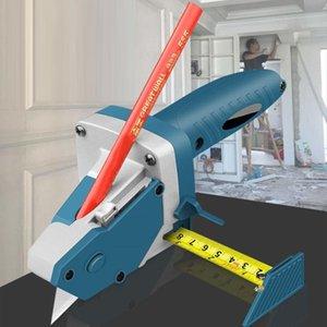 MANUAL GYPSUM Board Taglierina Push Push Drywall Utensili artefatto con nastro adesivo per la lavorazione del legno