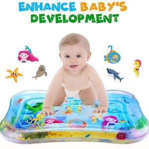 Bebek Su Mat Çocuk Oyuncakları Şişme Öfke Ped Yastık Bebekler Yürüyor Su Oynamak Çocuk Hediye Bebek Yaz Hediye Için Eğlenceli Paspaslar Eğlenceli