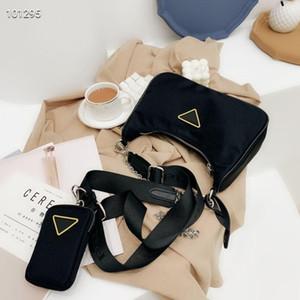Luxo Designer Totes Bolsas de Alta Qualidade Nylon Handbags Carteira Mulheres Sacos Crossbody Bag Hobo Bolsas de Dois Tom Plain Fashion Bags Corpo