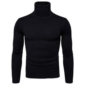 Popular Moda Mens Mulheres Solid Sweater Turtleneck para Vencedor Camisola Homens Roupas Cashmere Homens 2021