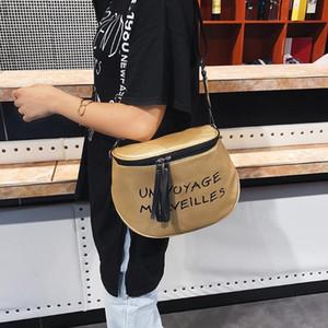 Semicircle chest bag fashion messenger bag simple wide shoulder strap shoulder satchels lipstick cross body woman