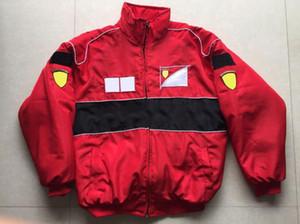 2020 новый F1 автомобильный гоночный костюм ветрозащитный куртка стиль колледжа европейская и американская повседневная куртка хлопковая куртка мотоцикла езда ветрозащитный и война