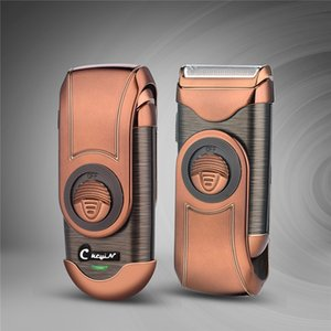 Electric Shaver Men's Shaving Machine 3D Floating Rechargeable Razor Single Blade Reciprocating Shaver With Sideburns Trimmer 0 Q1125