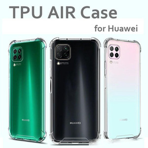 Transparent Soft TPU Case for Huawei P10 20 30 P30 Lite Mate 30 20 10 Pro Mobile Phone Case Air Cushion Protective Rear Cases