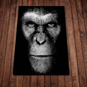 Planet of The Apes Movie Poster Canvas Print Wall Art Fashion Home Decor Living Room Bedroom Oil Paintings