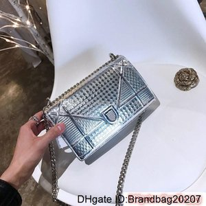 Designer-2020 Designer Handbag handbags High Quality Ladies Chain Shoulder Patent Leather Diamond Luxury Evening Bags Cross body Bag