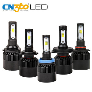 CN360 S2 N2 2PCS H4 H7 H11 9006 9005 LED CSP Chip Auto Car Headlight 8000LM 6000K Lamp Bulbs Auto Headlamp 12V 36W Turbo Fan