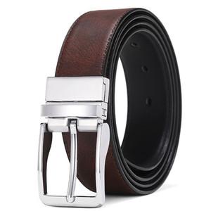 Homens dos homens de Fange Celts de couro para jeans reversível cinto homens vestido casual calças de golfe camisas sapatos de alta qualidade fg4139-1
