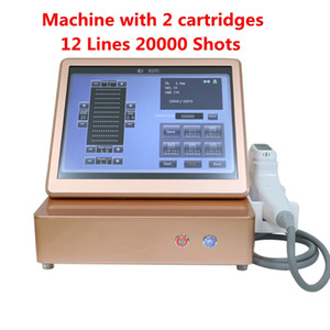 professional 3D 4D HIFU machine 12 Lines 20000 shots High Intensity Focused Ultrasound HIFU Face Lift Machine skin tightening body slimming