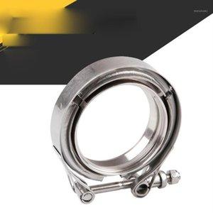 Прочные части Автозапчасти из нержавеющей стали HOSE HOSE HOOP CLAMP V-CLAMP TING TIRE Hoop Модифицированная выхлопная труба1