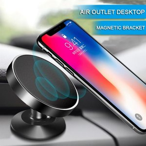 Magnetic Mobile Car Holder Air Outlet Vent Suction Cup GPS For iPhone Samsung Xiaomi Phone Mount Stand Bracket