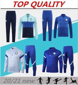 Soccer Training Suit 2020 2021 Kante Willian Soccer Jacket Tracksuit 20-21 Pedro Fabregas Stumisic Football Jackets