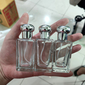 Wholesale Luxury Clear Empty Glass Perfume Pump Sprayer Bottle 30ml Glass Spray Bottles On Promotion Now
