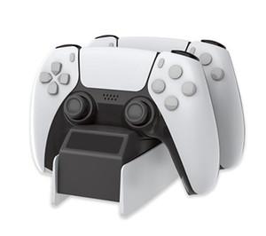 Dupla de carregamento para PS5 Controlador de Jogo Sem Fio LED Super Forte Playstation Magnético 5 Slim Pro Mini Porta USB Carregador Livre DHL