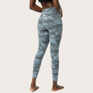2020 Bayan Spor Yoga Tayt Spor Femmes Fitness Capris Kanada Tarzı Hizala Tayt Set Tasarımcı Yoga Ter Pantolon Baskılar Camoflauge