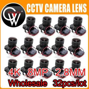 32PCS LOT 4K HD 2.8mm Lens 8MP F0.95 M16 Focal 1 2.7