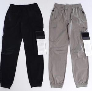 20SS значок брюки для мужчин Компас стилист трек брюки буквы дизайн Jogger грузовые брюки весенние брюки с узкой ногами брюк тонкой уличной одежды