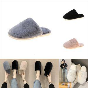 Kj0pr aoxunlong mulheres inverno peludo chinelos sapatos para peles slides pelúcia slipper garoto strass senhoras pelúcia moda senhora quente macio flip
