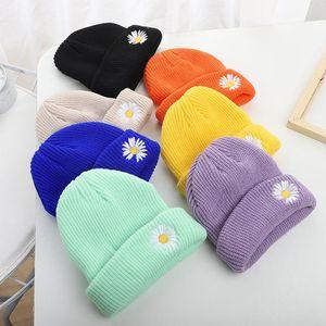 Knitted Kids Beanie Cap Infant Baby Boy Girl Hat Warm Children Autumn Winter Girls Hat For Kids Toddler Muts Bonnet Enfant