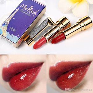 Top Quality Brand Velvet Sexy Matte Star Lipstick WaterprOf Long Lasting Lip Gloss Cosmetics 6 Color Moisturizing Lip Makeup Free Shipping