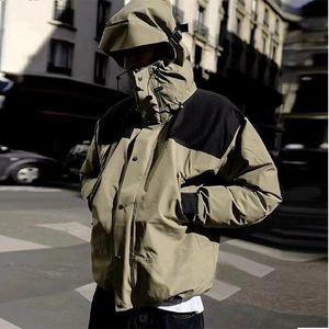 En Kaliteli Yeni Erkek Ceket Womenhot Üretim Kapüşonlu Ceketler Mektuplar Ile Rüzgarlık Fermuar Hoodies Erkekler için Sportwear Giyim Tops
