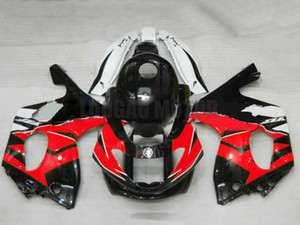 Injection Bodywork+tank For red white blk YAMAHA YZF600R 97-07 1997 1998 1999 2000 2001 2002 2003 2004 2005 2006 2007 YZF 600R Fairing Kit