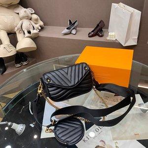 5A classic wallet handbag ladies fashion bag Love clutch bag soft leather shoulderbag fold messenger bag crossbodybag with box wholesale 007