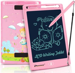 LCD Writing Tablet for Kids Learning Writing Board LCD Writing Pad Smart Doodle Drawing Board Portable Electronic Handwriting Pads 8.5 Inch