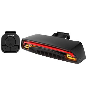 meialn X5 wireless remote control steering bicycle gub taillights USB charging riding with speaker bell giyo R1 Bicycle Ligh