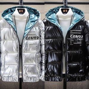 YXA4 Sijimz Kış Boy Kadınlar 2018 Kış Sıcak Aşağı Ceket Kadınlar Kalın Paragraf Yapay Kürk Rakun Yaka Ceket Kadın039; S COAT JA