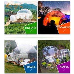 Büyük Şişme Hava Kubbe Clear Kabarcık Çadır Kamp için / Açık Şişme Şeffaf Kabarcık Hotelfor Sale Z1123