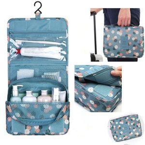 JPZYLFKZL Brand Hanging Cosmetic Bag Beauty Makeup Bag Women Travel Portable Cosmetics Organizer Men Bath Waterproof Washbag