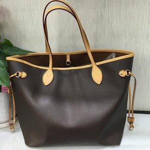 2-piece set Handbag Women Luxurys Designers Bags 2021 3 color Casual travel large capacity tote bag PU material fashion shoulder bag's wallet 40156#