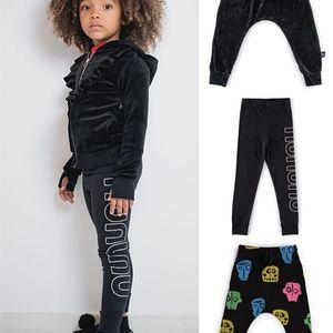2020 Outono New Nununu série crianças roupas meninas leggings meninos harem calças crianças roupas meninos 8 a 12 roupas de outono para crianças lj201017
