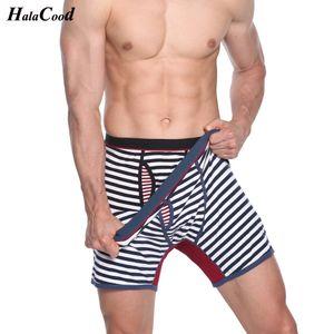 Vendita calda Qualità Plus Size Cat Boxer Shorts Mr Mr Panties Brand Fashion Sexy Man Biancheria intima da uomo Grandi mutande