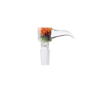 CSYC dabpipes666 NC068 NEW glass bowl for smoking bong Colorful Bowl For Glass Bongs Funnel Bowls Pipes High Quality Smoking Oil Rigs Pieces