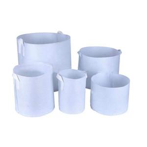 Prezzo di fabbrica Guida in tessuto non tessuto Riutilizzabile Soft-Sided Pots Altamente traspiranti Piantatura Borsa con maniglie Grande fiore PL