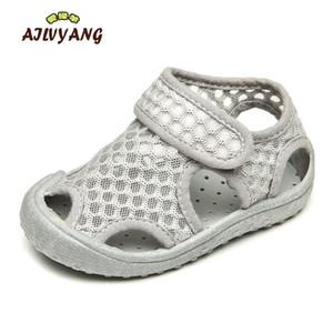 Ailvyang marque bébé garçons fille été maille sandales chaussures enfants respirant plage chaussure basculement appartements chaussures anti-glissement A09 y200103