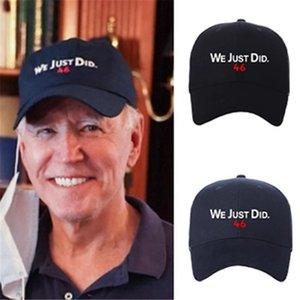 Мы только что сделали 46 HAH - BiDen президент избрание 2020 Harris Cap BiDen бейсбольная крышка регулируемая президент Bifen Preduction Hat IIA927