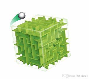 3D Mini Speed Cube Maze Magic Cube Puzzle Puzzle Juego Cubos Magicos Aprender juguetes Laberinto Rolling Ball Juguetes para Chilren Adulto