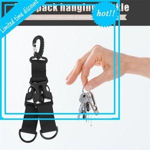 Zaino da esterno Belt Nylon GSP MOLLE D-Ring Karabiner Key Block Hanger Gancio Campo Clip Hanging Lock