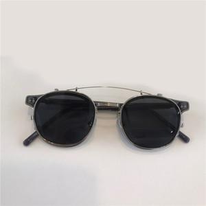 Alio Nouveaux Lunettes de soleil populaires avec UV 400 Protection pour hommes Vintage Cadre rond Fashion Top Qualité Venez avec étui Lunettes de soleil classiques