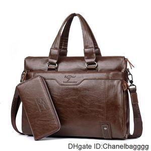 2017 New brand name handbag crossbody single shoulder men messenger bags briefcase mens bag purses computer geniune leather