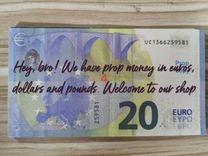 Fake Euros Most Realistic Prop Copy Money Nightclub For Paper Bank Play Note 20 Business Collection Movie 09 Odnhc