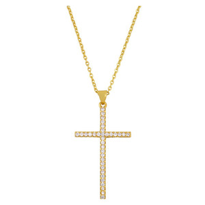 Accessories Cross Pendant Necklace Designer Colors Zircon Cross Necklace Nkr25 Accessories Cross jllacI carshop2006