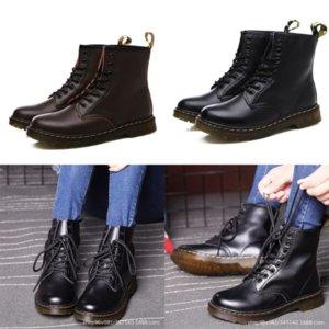 QVFCJ Designer Scarpe in pelle Rockoko Couple Combatwomen Wee Boot Donna Stivaletti Boots Boots Boots Donne Biker Boots Stretch Tessuto Inserti
